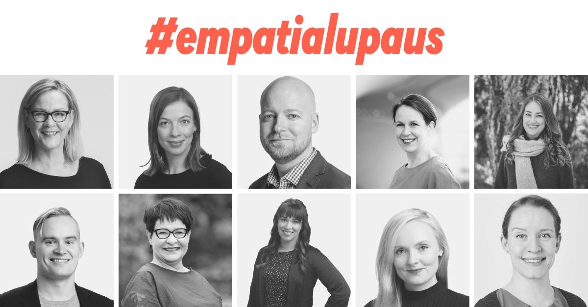 Empatialupauksen tehneet kansanedustajat ovat Eva Biaudet, Li Andersson, Jussi Saramo, Veronika Honkasalo, Inka Hopsu, Atte Harjanne, Tarja Filatov, Noora Koponen, Maria Ohisalo ja Mirka Soinikoski