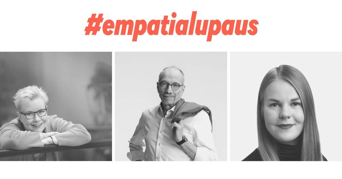 Empatialupauksen ovat tehneet europarlamentaarikot Sirpa Pietikäinen, Nils Torvalds ja Alviina Alametsä.