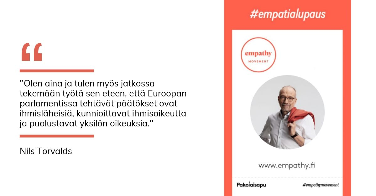 Nils Torvaldsin empatialupaus