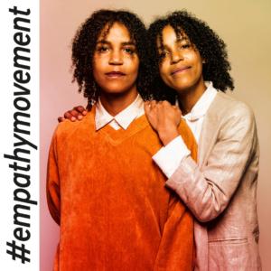 Empathy Movementin Empatialähettiläät Naomi ja Wanda Holopainen